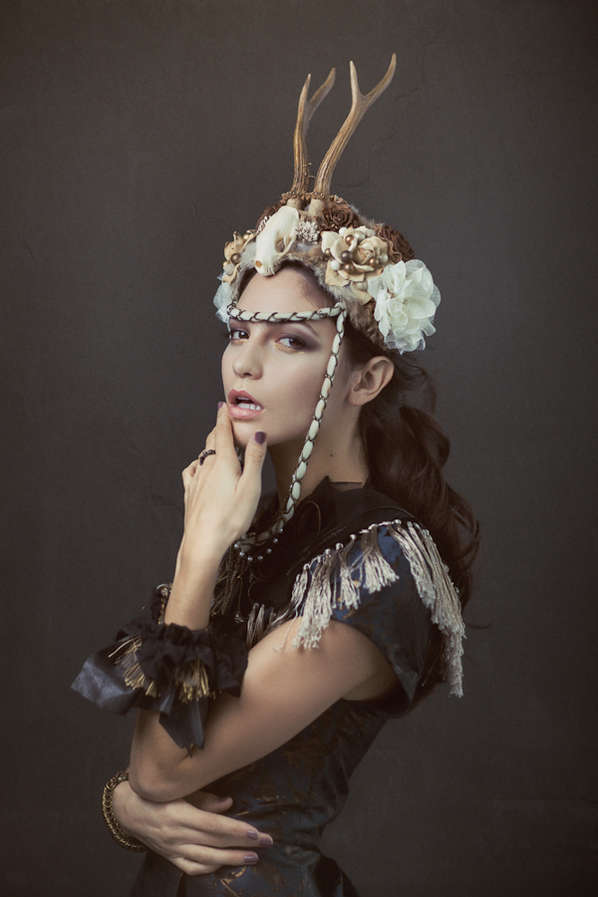 Exagerated Headdress Photoshoots