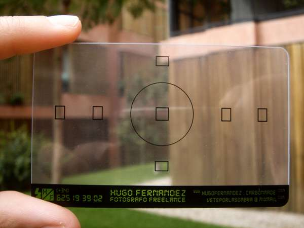 Photographer-s Business Card