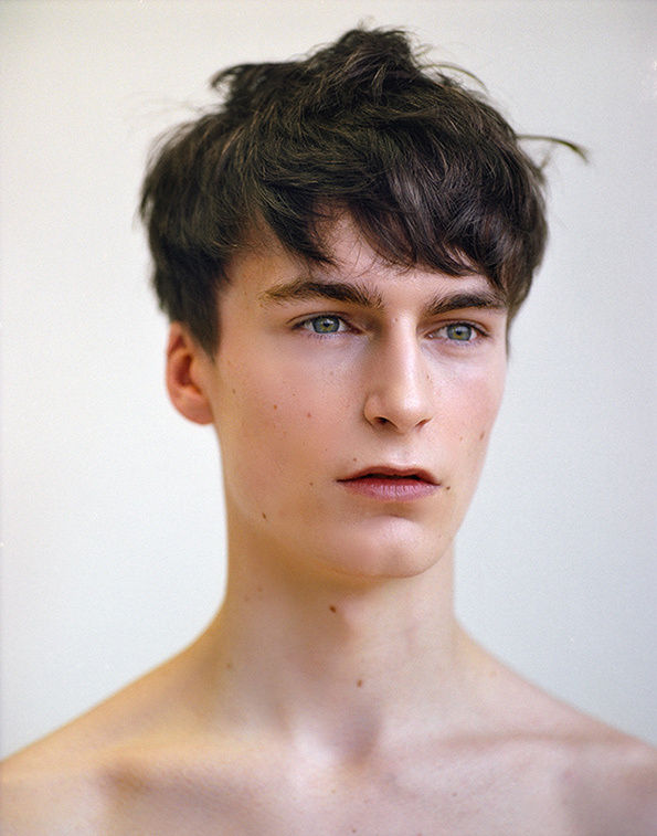 Raw Adolescent Boy Portraits