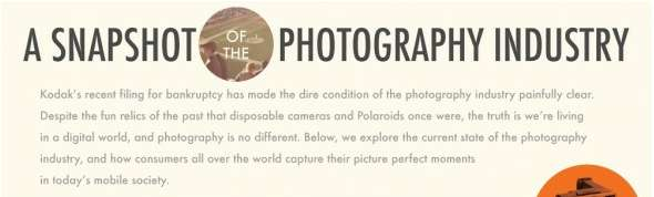 photography industry infograph