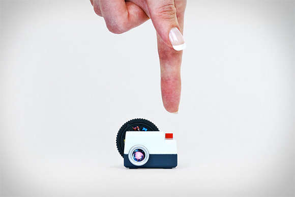 Miniature Social Media Projectors