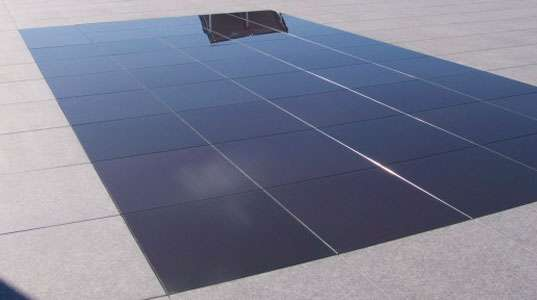photovoltaic paving tiles
