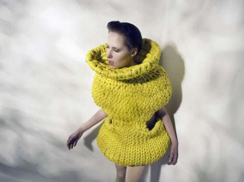 Knit Cocoon Dresses