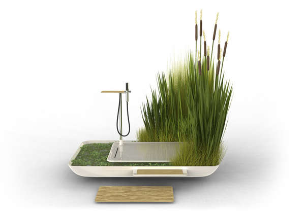 Lush Planter Showers