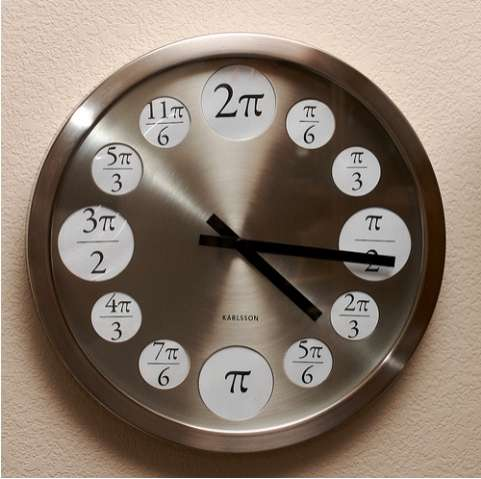 Math Major Wall Clocks