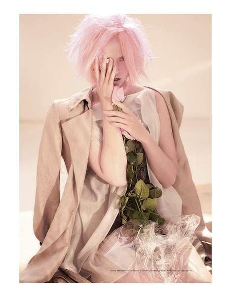 Rose-Hued Hairtography