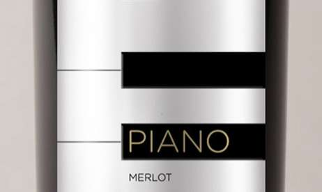 Piano Wine Packaging