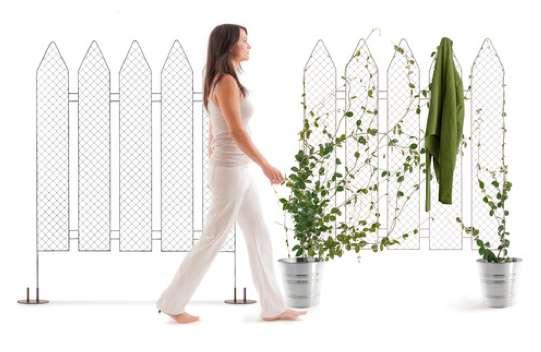 Intricate Trellis Fences