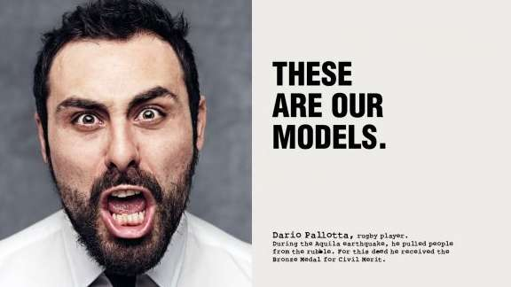 piazza italia role model campaign