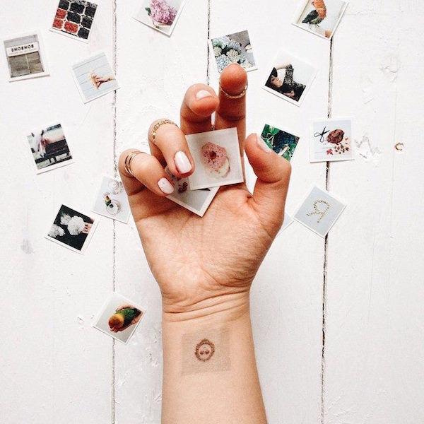 Photographic Temporary Tattoos