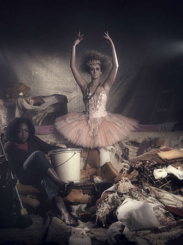 Burnt-Out Ballerina Photos