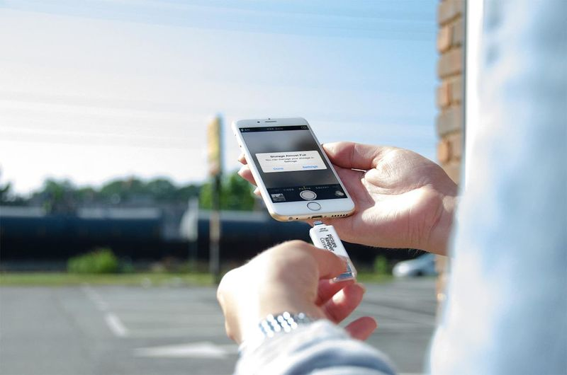 Smartphone Photo USB Drives