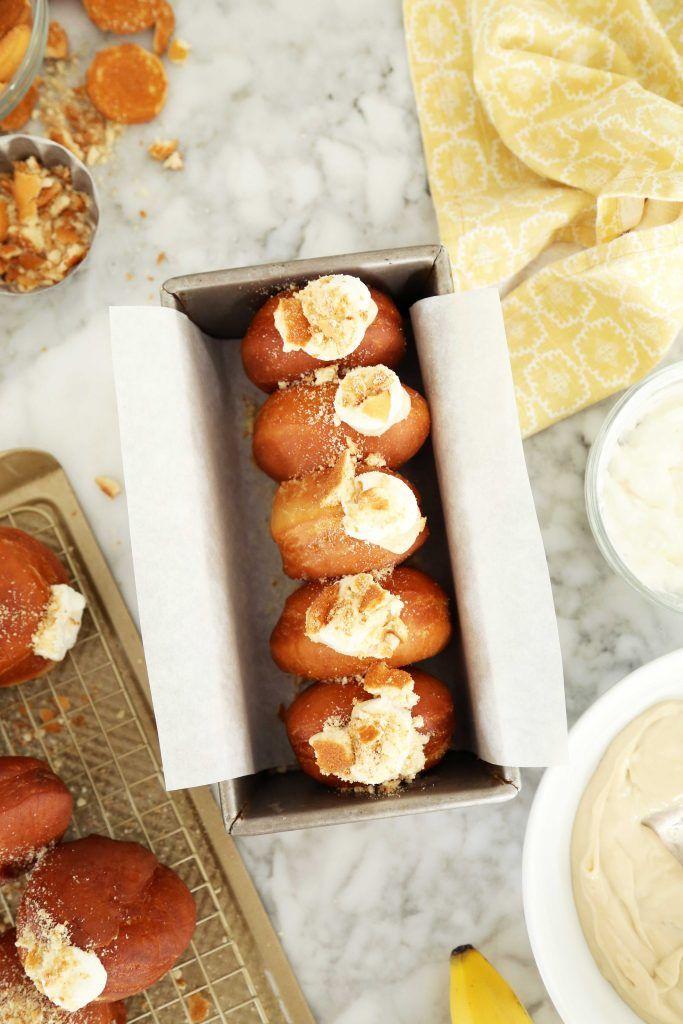Stuffed Pie Donuts