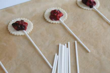 Baked Pastry-Inspired Lollipops