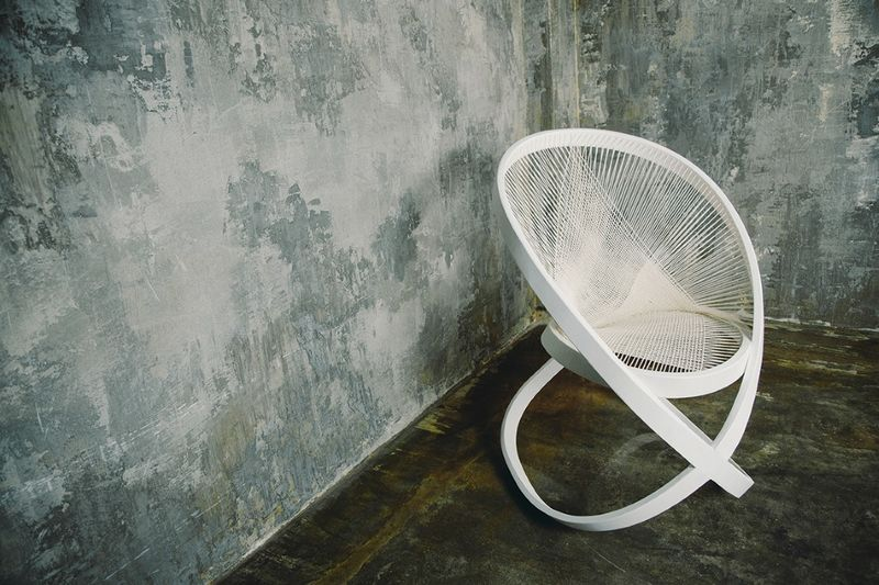 Curved Mobius Chairs