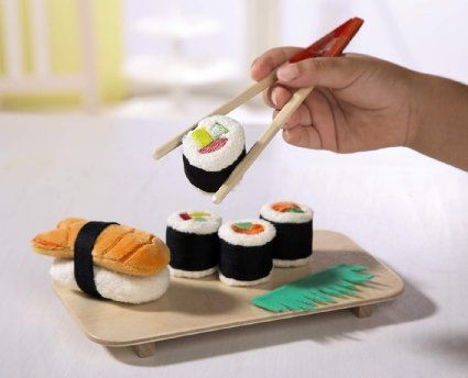 Plush Sushi Play Sets