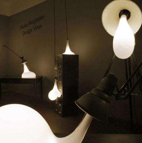 Oozing Lightbulbs
