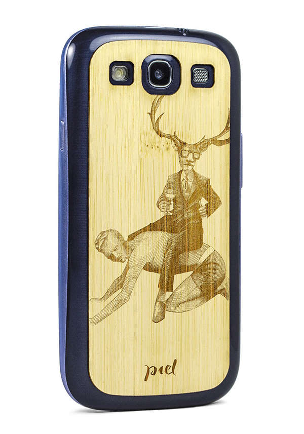 Intricate Timber Phone Covers