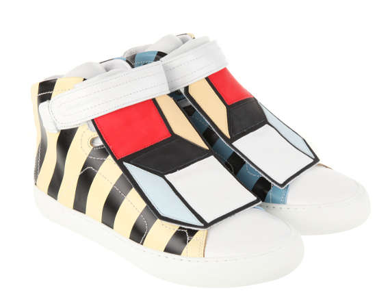 Optical IIllusion Cubic Sneakers