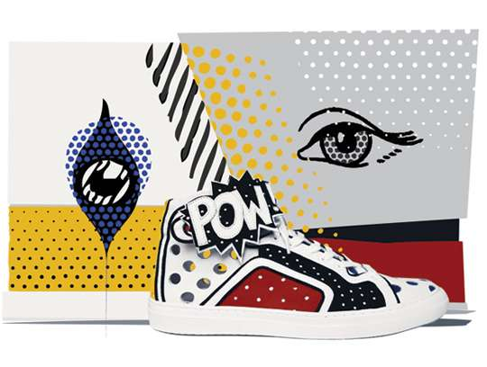 Comic Book-Inspired Kicks