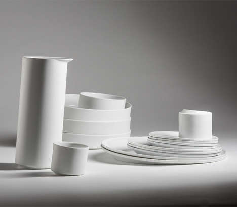 Delicately Tilting Tableware
