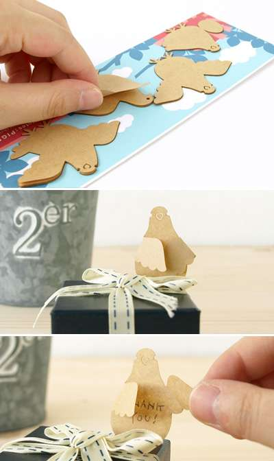pigeon bird sticky notes