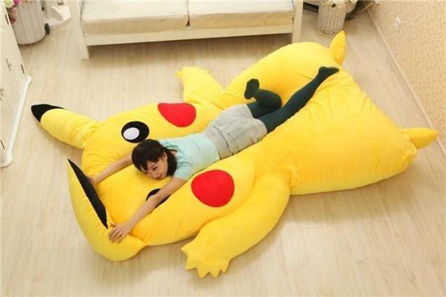 Anime Monster Beds Pikachu Character