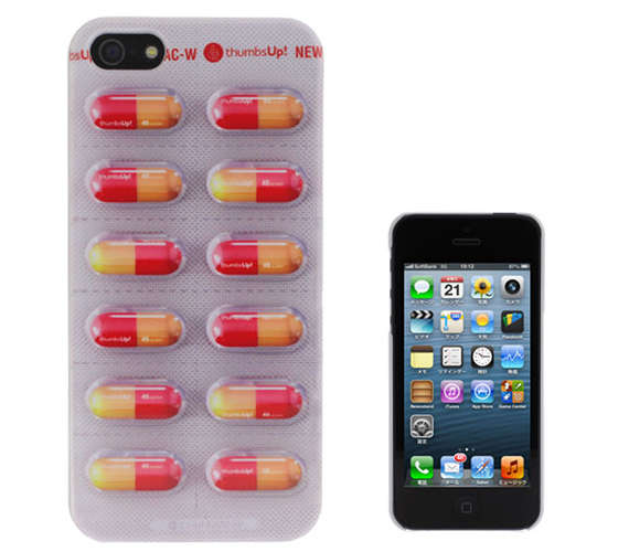 Pharmaceutical Capsule Phone Cases
