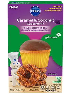 Cookie-Flavored Baking Mixes