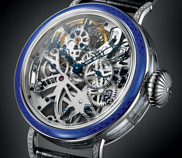 Sleek Skeletonized Timepieces