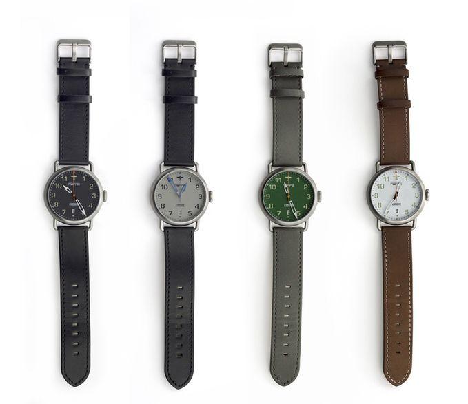 Titanium Aviation Watches