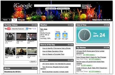 Designer Homepages