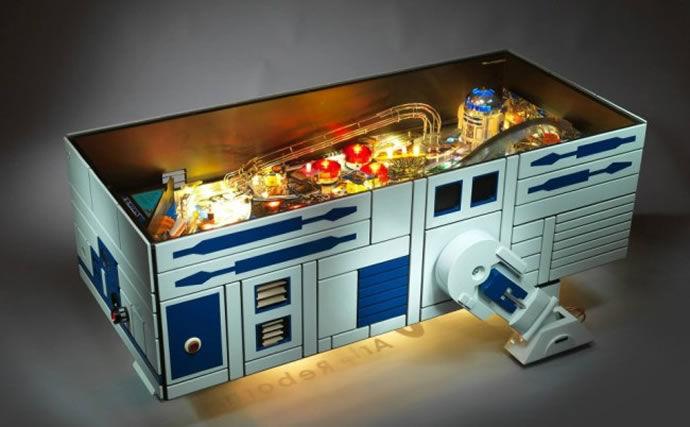 Galactic Pinball Machines