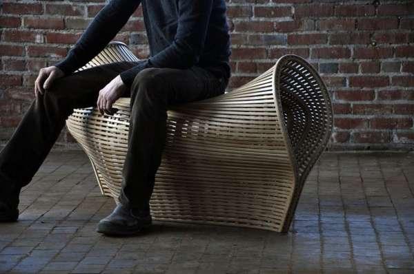 Dumpling-Shaped Benches