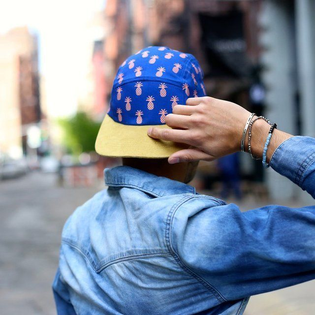 Pineapple Patterned Hats