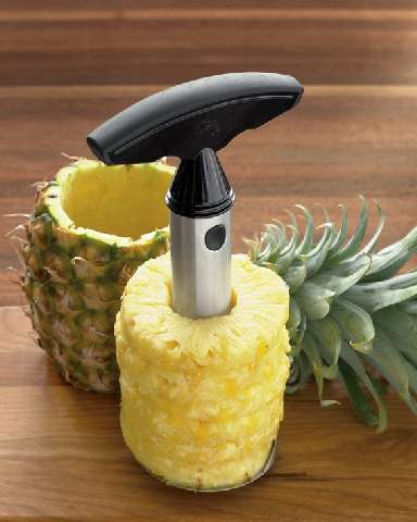 pineapple easy slicer by williams sonoma