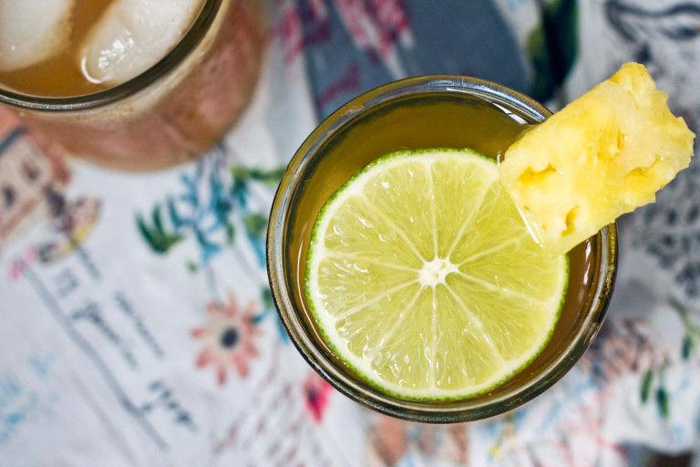 Dandelion Pineapple Iced Teas