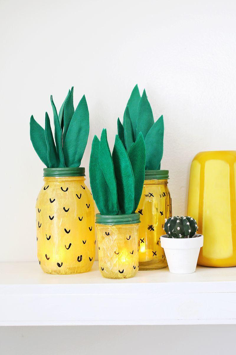 DIY Pineapple Lights