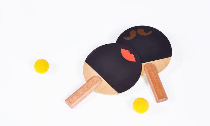 Animated Ping Pong Paddles