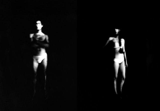 Shaded Pinhole Photographs
