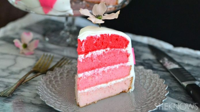 Layered Ombre Cakes
