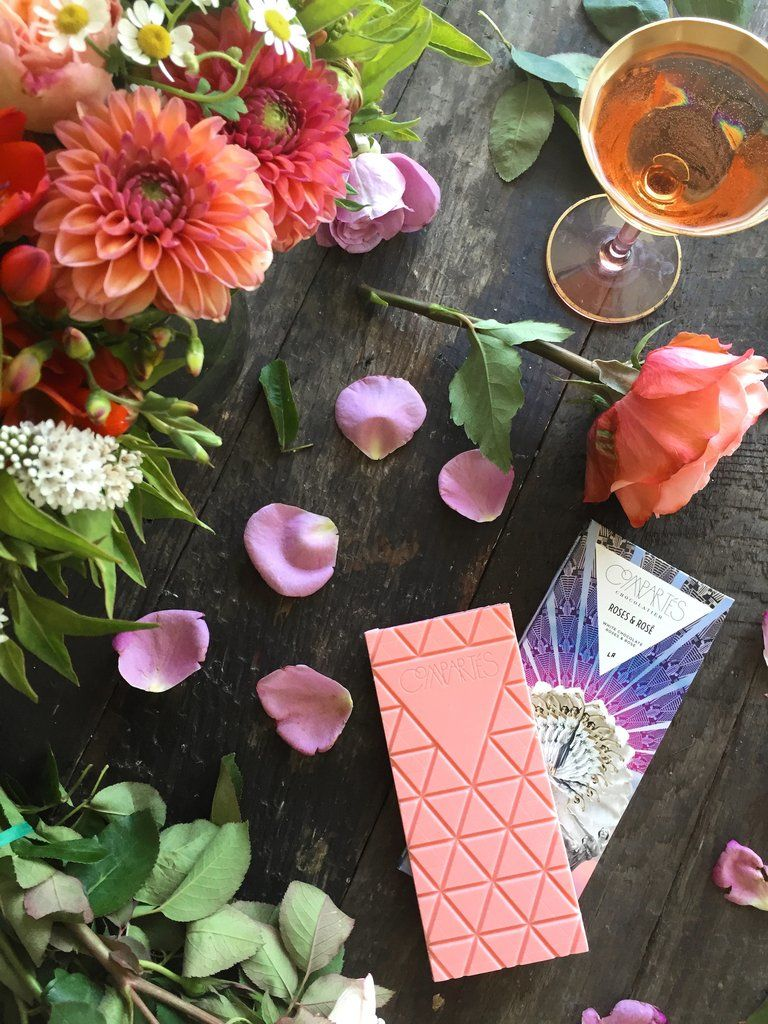 Rosé-Flavoured Chocolates