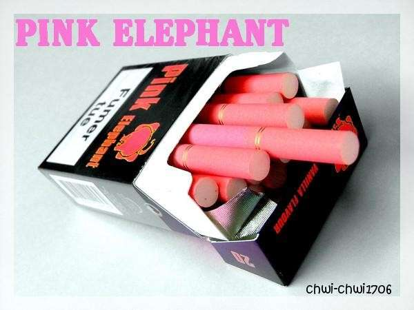 Pink Cigarettes Birthday Colored Cigs From Heupink Amp Bloemen