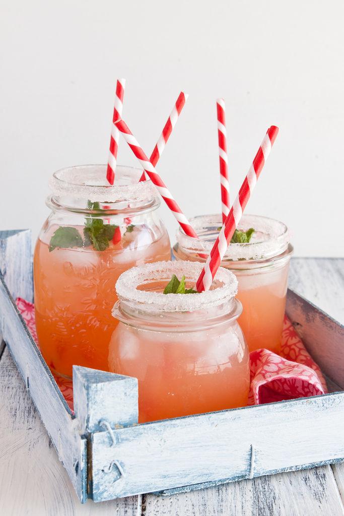 Pink Grapefruit Lemonades
