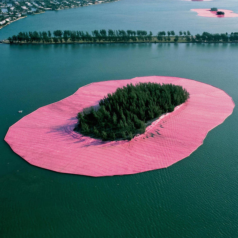 Sublime Pink Islands