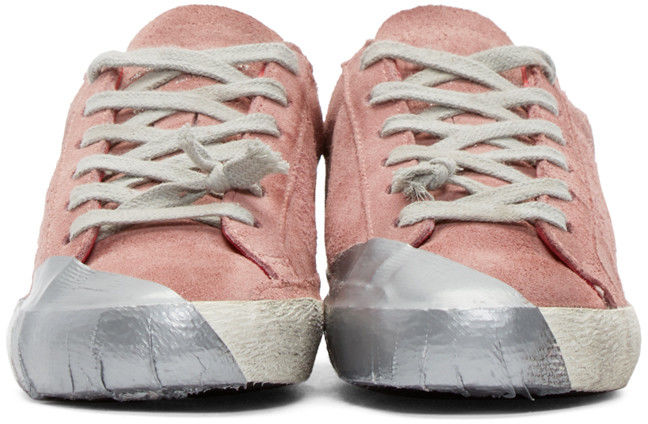Expensive Distressed Sneakers