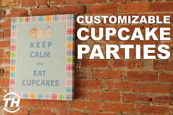 Customizable Cupcake Parties