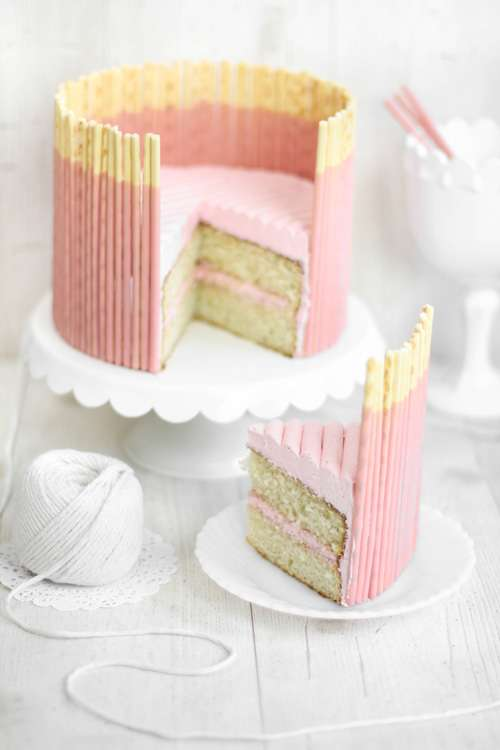 Pocky Cake Ideas