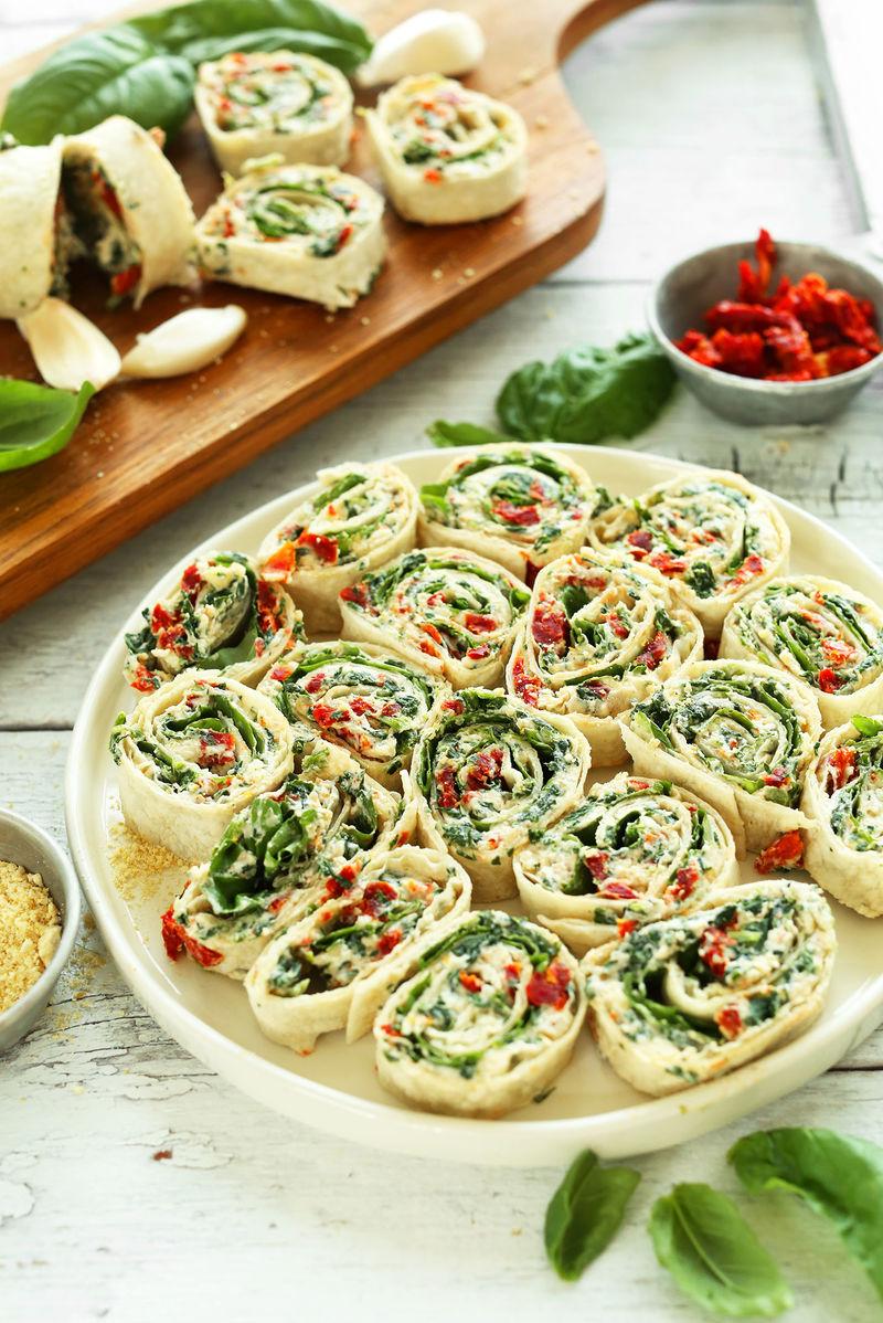 No-Bake Savory Pinwheel Snacks