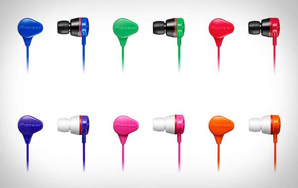 H2O-Friendly Earbuds